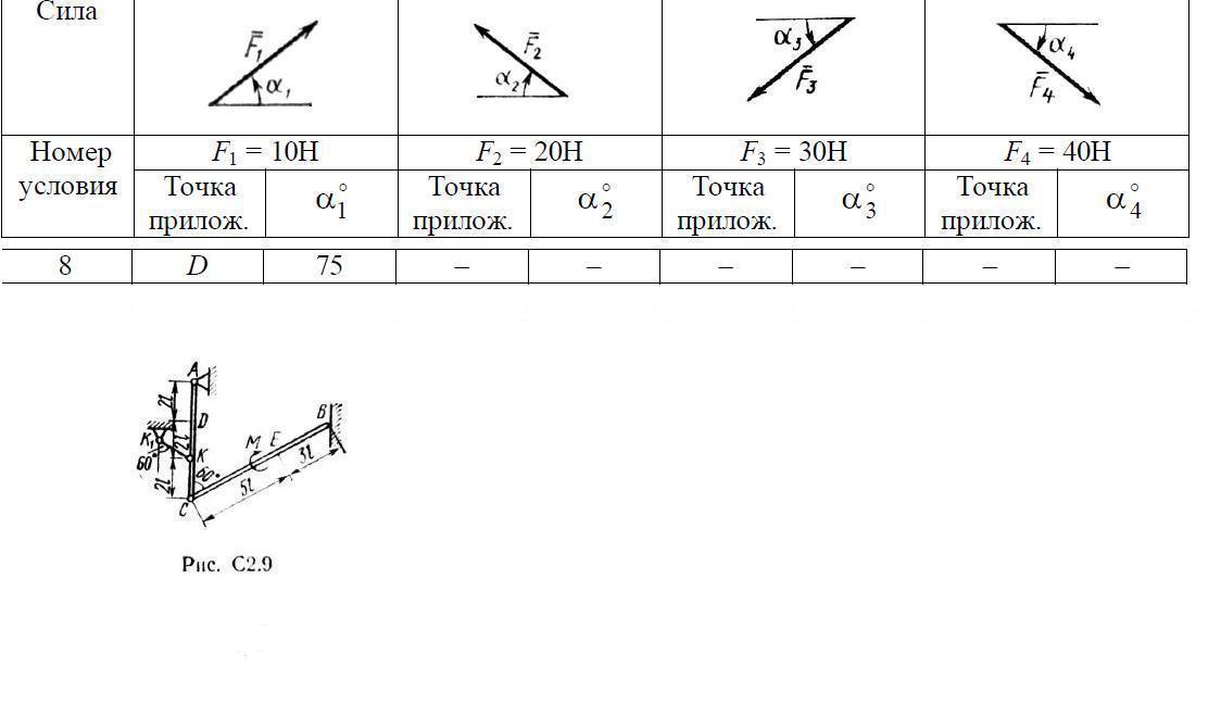 Условие по таблице - 8. 45.00р. перейти к. Условие и схем к задаче смотреть. пример выполненной работы.